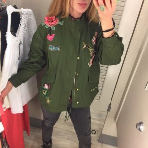 Blogger Parka Patches Jacke