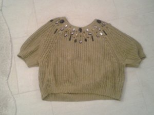 Christmasjumper ocher cotton