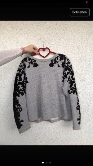Zara Woman Coarse Knitted Sweater multicolored