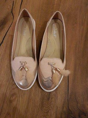 Blogger Rosegoldene Schuhe