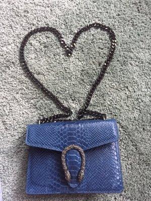 Blogger Schlangenoptik Tasche