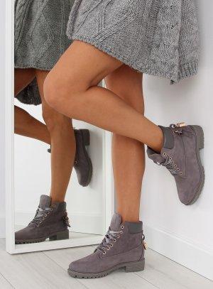 Blogger Schuhe Wild Leder Schuhe ganz NEU mit Gold Detail als Schloß AT-0623-L Schnürstiefel Stiefeletten Schnürschuhe Schnürboots Damen Boots Stiefel Größe 38 39 40 41