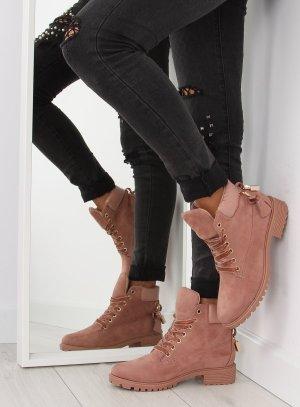 Blogger Schuhe Wild Leder Schuhe ganz NEU mit Gold Detail als Schloß AT-0623-L Schnürstiefel Stiefeletten Schnürschuhe Schnürboots Damen Boots Stiefel Größe 38 39 40