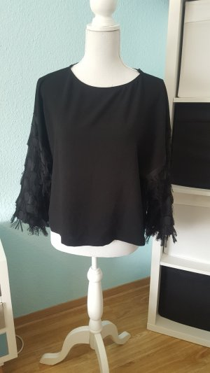 H&M Top extra-large noir