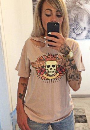 Oversized Shirt rose-gold-coloured