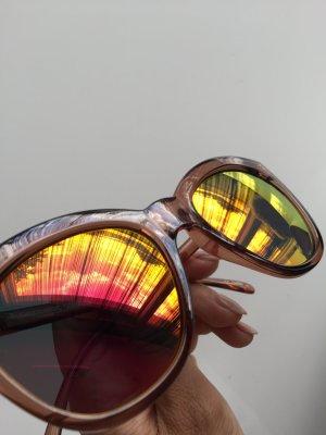 Blogger Sonnenbrille Le specs bunte Gläser verspiegelt