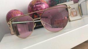 Blogger Sonnenbrille Roségold Neu sunglasses
