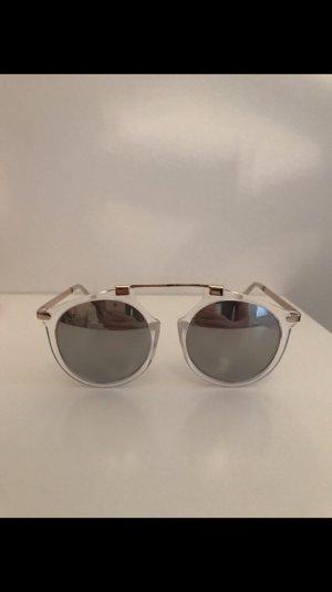 Blogger Sonnenbrille rund