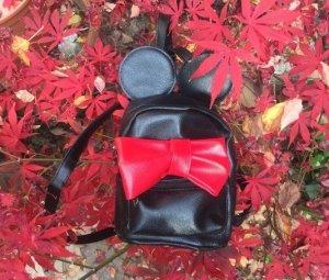 Backpack black-red