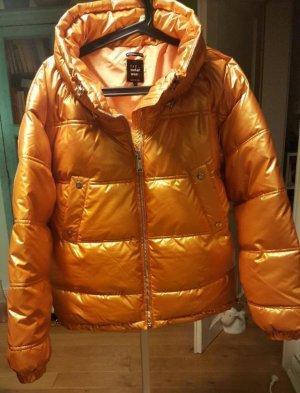 Zara Veste matelassée orange pelage