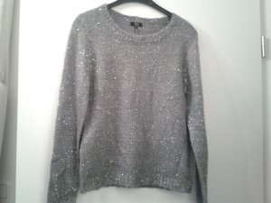 Ann Christine Christmasjumper silver-colored