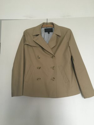 Blogger-Style! Cape / Trenchcoat von US-Trendmarke J.Crew, Size 00 (XS), beige