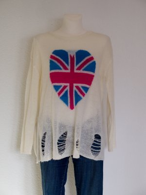 AJC Oversized Sweater multicolored polyacrylic
