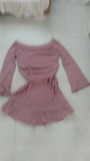 BLOGGER !! tolles angesagten weiches warmes besonderes Off Shoulder Strickkleid Wollkleid Kleid - SIMPLEE