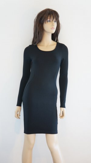 H&M Stretch Dress black polyester