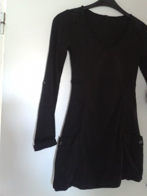 Robe Sweat noir coton