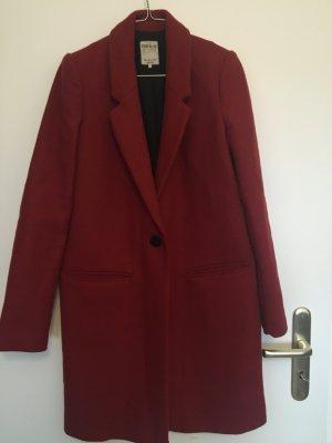 Blogger Zara Mantel Rot XS 34 36