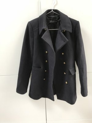 Zara Military Jacket dark blue