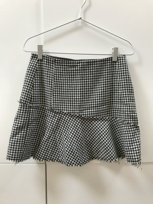 Zara Mini-jupe noir-blanc
