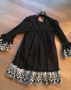 Blogger ZARA Tunika Kleid Stickerei M NEU