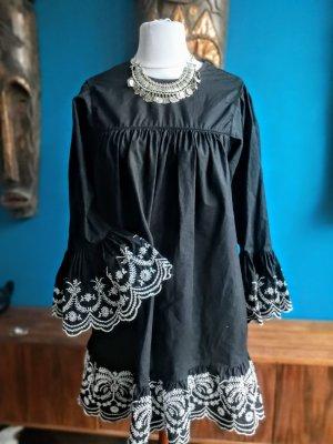 Zara Abito a tunica bianco-nero