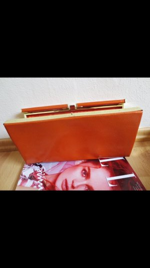 Bloggerclutch in orange von Accessorize