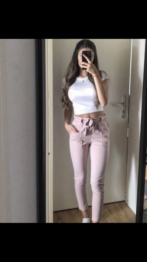 Peg Top Trousers pink-light pink
