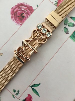"Bloggerstyle Armband ""Love"" Strass"
