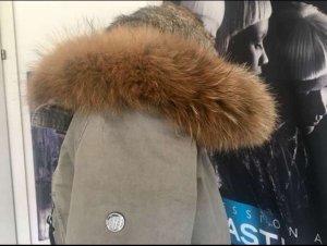 Blonde No. 8 Fur Jacket light grey