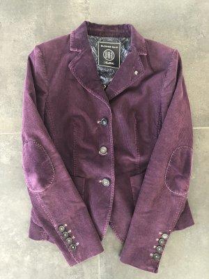 Blonde No. 8 Blazer blackberry-red-brown violet