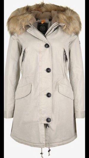 Blonde No. 8 Abrigo de invierno crema-beige