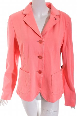 Blonde No. 8 Blazer gris oscuro-rosa claro estilo clásico