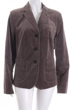 Blonde No. 8 Blazer grijs-bruin-grijs simpele stijl