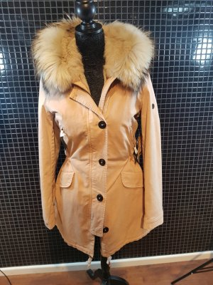 Blonde No.8 Damen Echtfell Parka