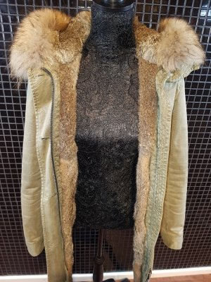 Blonde No.8 Damen Echtfell Parka Aspen 515 Feather(L,M,S)