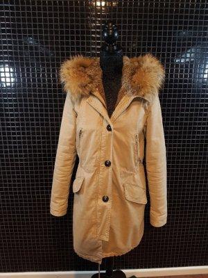 Blonde No. 8 Giacca di pelliccia beige Pelliccia