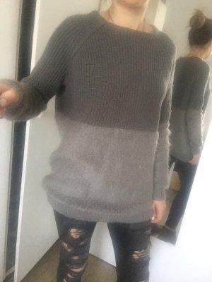 Blonde No. 8 Jersey largo gris claro-gris