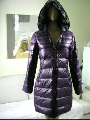 Blonde No. 8 Down Coat dark violet
