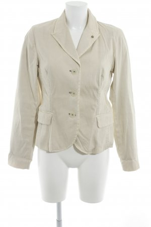 Blonde No. 8 Kurz-Blazer creme-petrol Business-Look