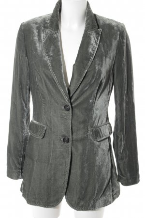 Blonde No. 8 Blazer corto gris verdoso estilo extravagante
