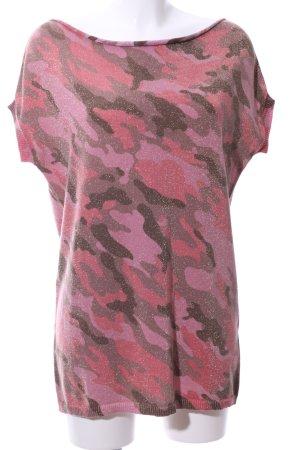 Blonde No. 8 Jersey de manga corta estampado de camuflaje look casual