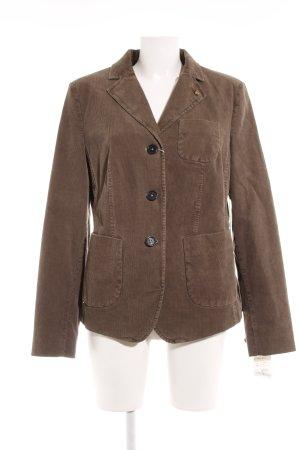 Blonde No. 8 Long Blazer grey brown retro look