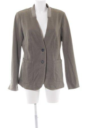 Blonde No. 8 Long Blazer green grey simple style