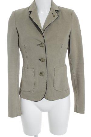 Blonde No. 8 Long-Blazer grüngrau Street-Fashion-Look