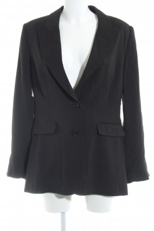 Blonde No. 8 Long-Blazer schwarz-stahlblau Business-Look