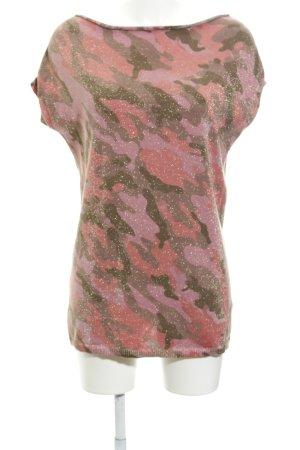Blonde No. 8 Longshirt Camouflagemuster extravaganter Stil