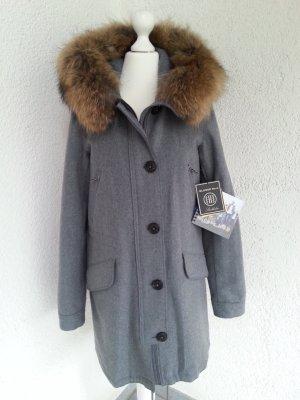 Blonde No.8 Parka Aspen Wool grau Echtpelz Gr.XS/34 neu
