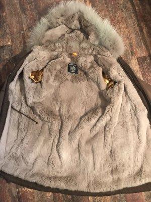 Blonde No. 8 Fur Jacket multicolored