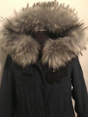 Blonde No.8 Parka Jacke Wintermantel Blau Gr.36 Neu NP 499€