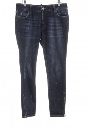 Blonde No. 8 Slim Jeans stahlblau Casual-Look